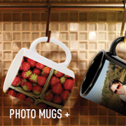 Customize your Photo Mug with photos, artwork, and logos.