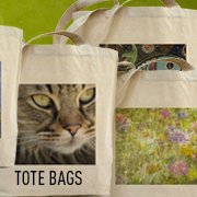 Canvas tote bags make a great grocery, bookworm, and beach partner. Customize your tote bag.