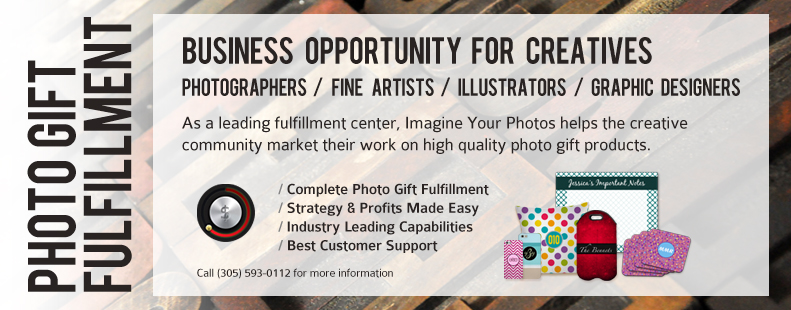 Imagine Your Photos offers fulfillment services to photo gifting companies.
